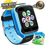 Kids Smartwatch Phone GPS Tracker con SOS Anti-perdida Call 1.44 Pantalla Táctil