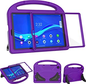 TeeFity Kids Case for Lenovo Tab M10 FHD Plus 10.3 inch Case, Shockproof Lenovo Tab M10 Plus 10.3 Kids Case with Built in Screen Protector for Lenovo Tab M10 Plus 10.3 2020 Tablet, Purple