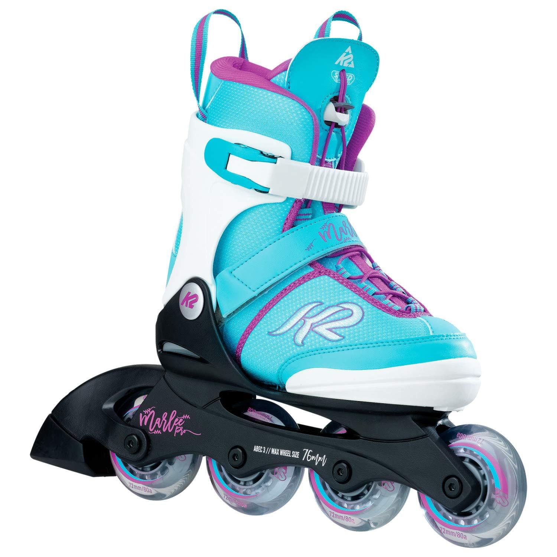 K2 Skate Youth Marlee Pro Inline Skates, Black/Coral by K2 Skate (Image #1)