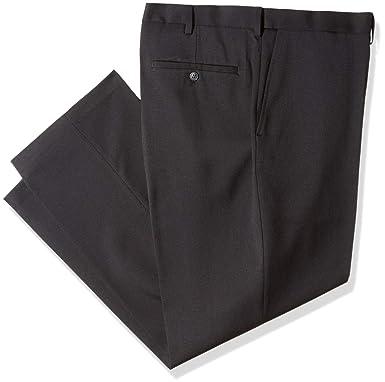 84b38b63f8 Haggar Men s Big and Tall B T Heather Twill Stretch Classic Fit Suit  Separate Pant