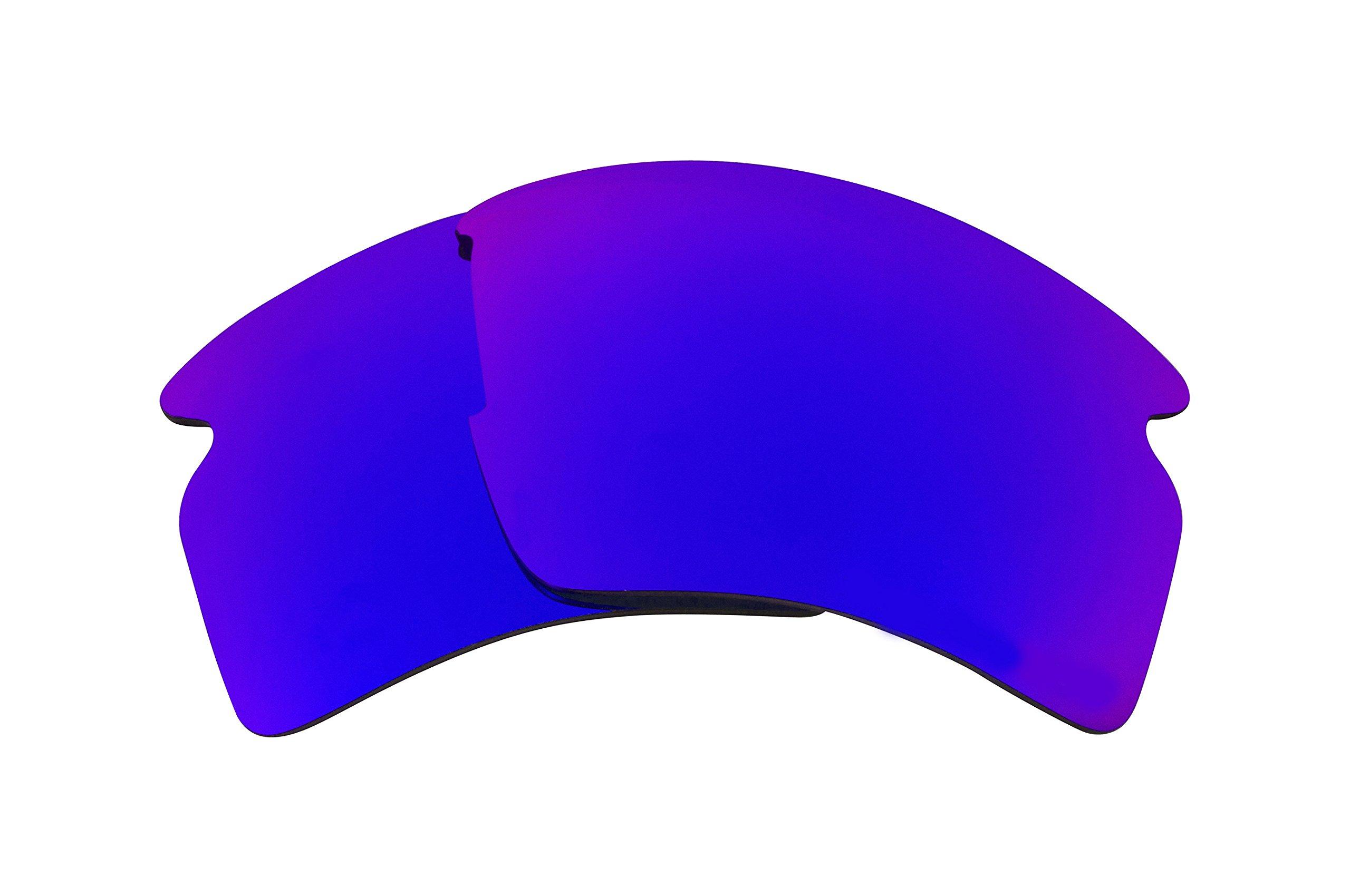 a3815c2d8c Galleon - Best SEEK Polarized Replacement Lenses For Oakley FLAK 2.0 XL  Purple Mirror
