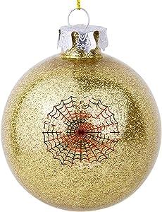 VinMea Christmas Ball Ornaments Spider Man Webs Holiday Season Home Decor Tree Hanging Decorations