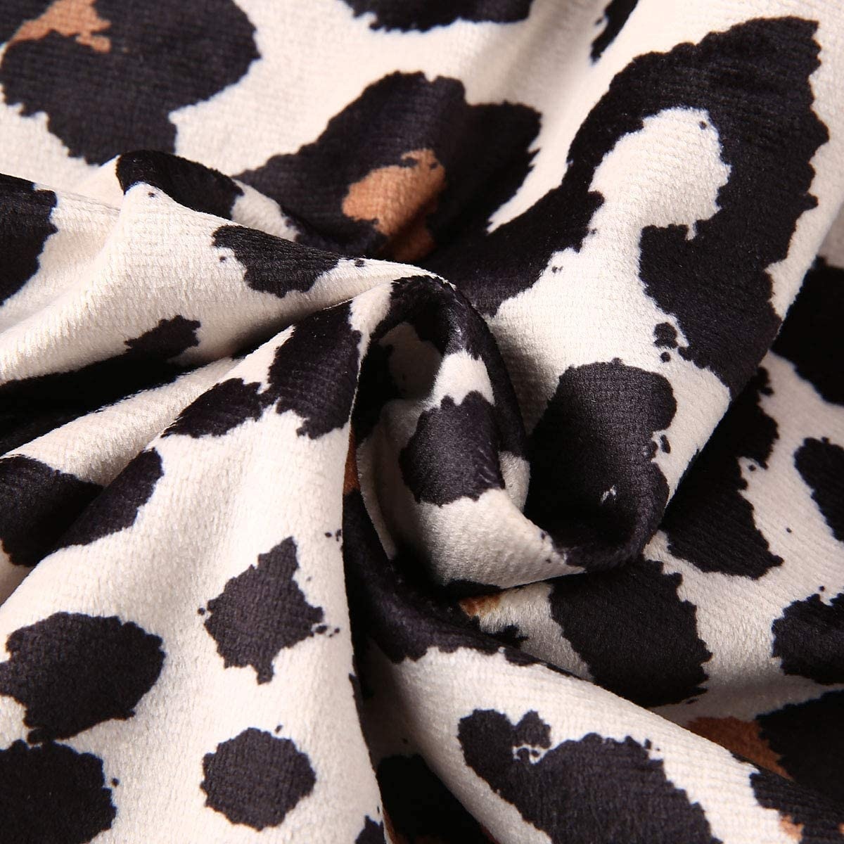 Toddler Little Baby Girl Leopard Print Sweater Long Sleeve Casual Shirts Pullover Top Fall Winter Clothes