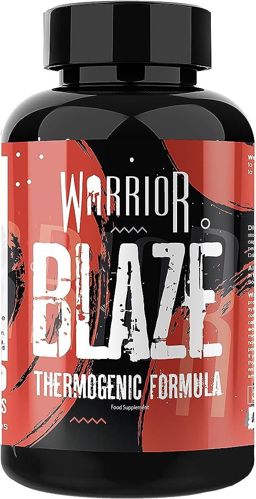 warrior blaze fat burner review