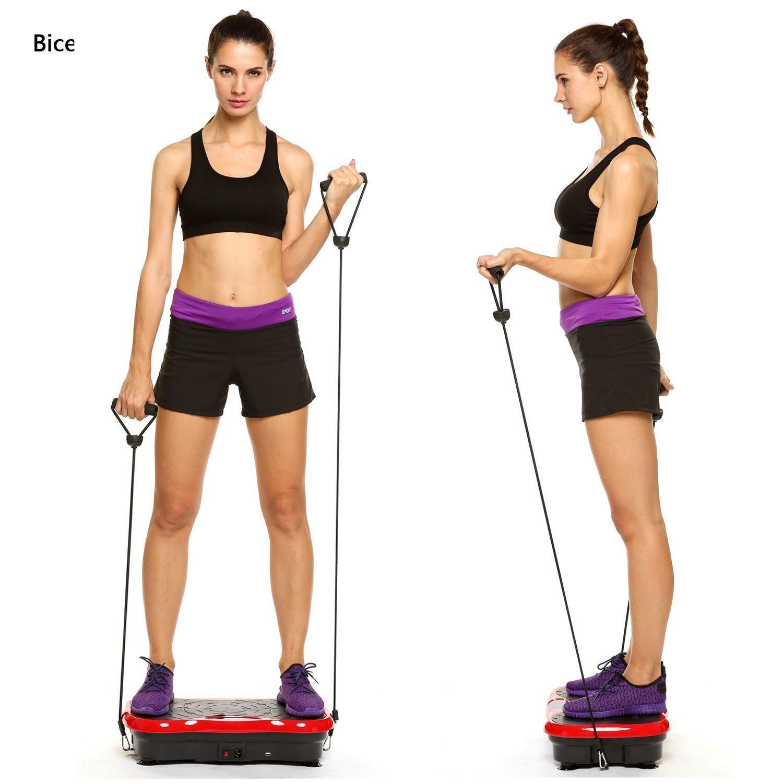QENCI Fitness Plataforma Vibratoria de Masaje con Motor Silencioso ...