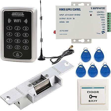 UHPPOTE WiFi RFID 125Khz Puerta de Acceso Teclado de Control ...