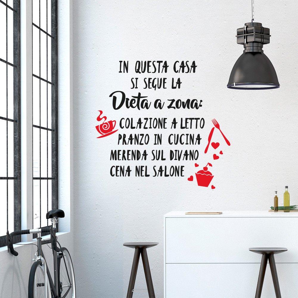 Adesiviamo 1576-L Si Cucina Sempre Pensando a Qualcuno Wall Sticker ...