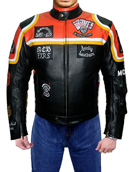 Amazon.com: LeatherJacket4 Harley Davidson and The Marlboro ...