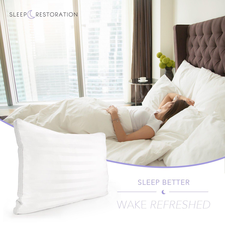Sleep Restoration Gusset Gel Pillow