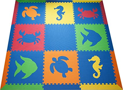 a girls safari mats x att foam mat photo play flooring pink baby for of white animals in playroom and soft babies