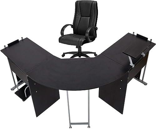 Editors' Choice: 71″ L-Shaped Gaming Desk