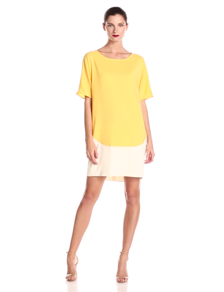Donna Morgan Colorblock Dress