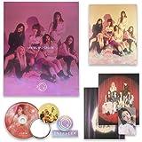 EVERGLOW Debut Album - [ ARRIVAL OF EVERGLOW ] CD + Photobook + Postcards + Sticker + Photocard + FREE GIFT / K-POP…