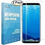 Samsung Galaxy S8 Schutzfolie, PULESEN® [2 stück] Samsung Galaxy S8 Folie[Anti-Bläschen] [Anti-Lifting] [Vollständige Abdeckung] Displayschutz Screen protector für Galaxy S8 Displayschutzfolie
