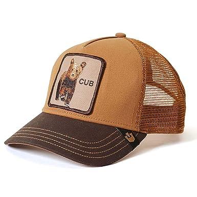 7176dcf15b8 Goorin Bros. Mens Cub Baseball Baseball Cap - Brown -  Amazon.co.uk ...