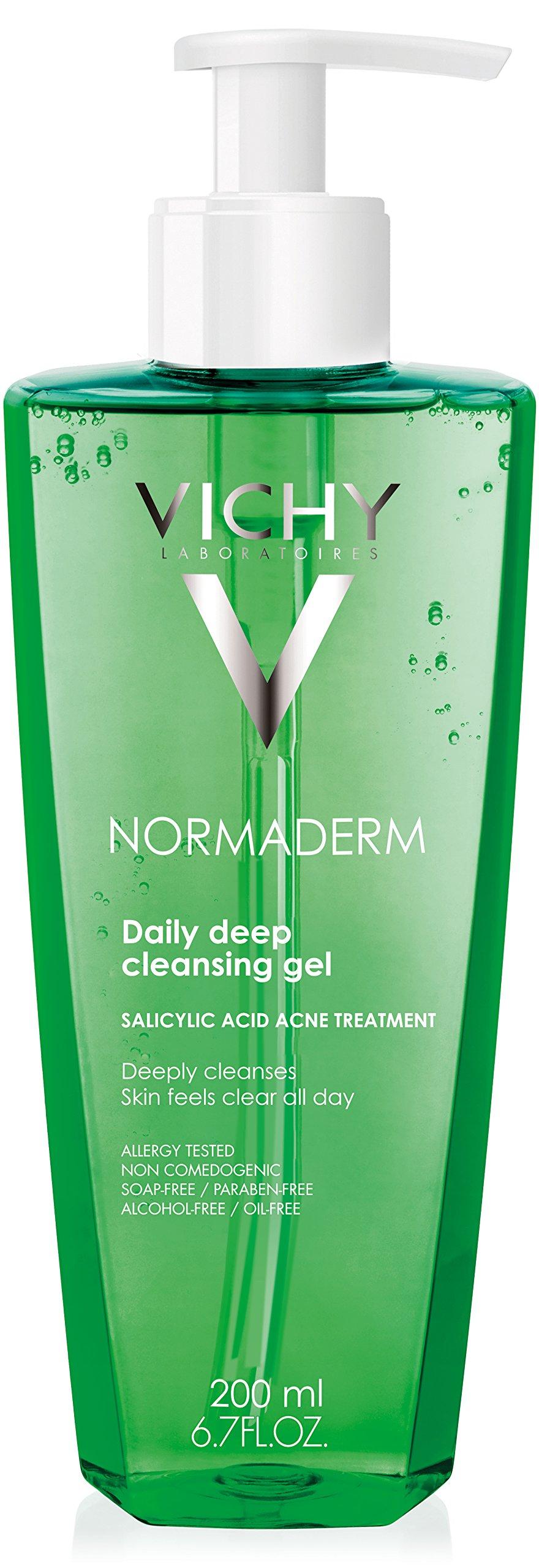 Vichy Normaderm Deep Cleansing Gel Salicylic Acid Acne Treatment, 6.76 Fl. Oz. by Vichy