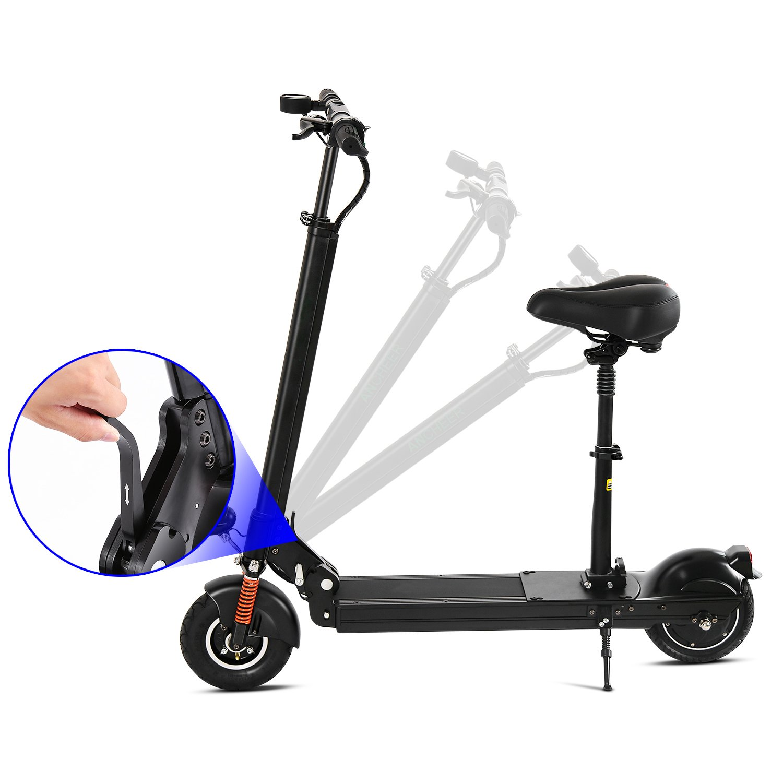 E-Scooter Patinetes Electricos con Asiento Plegable Portátil ...