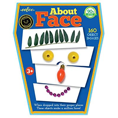 eeBoo About Face, Emotions and Feelings Game for Kids: Toys & Games