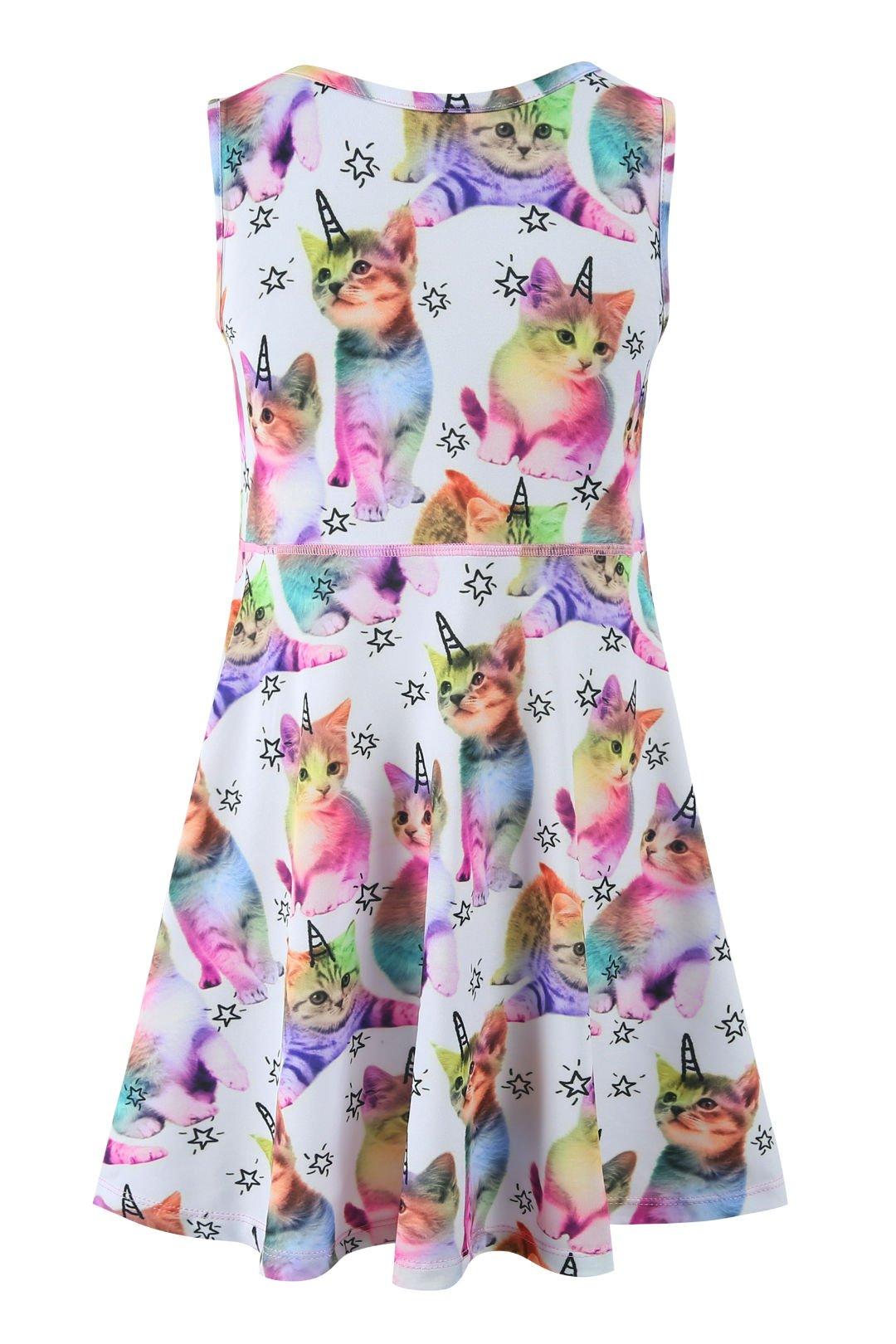 Liliane Tutu Dress for Girls Summer Dresses for Girls Dress 4t 5t Dresses for Girls(A009,4-5Y) by Liliane (Image #5)