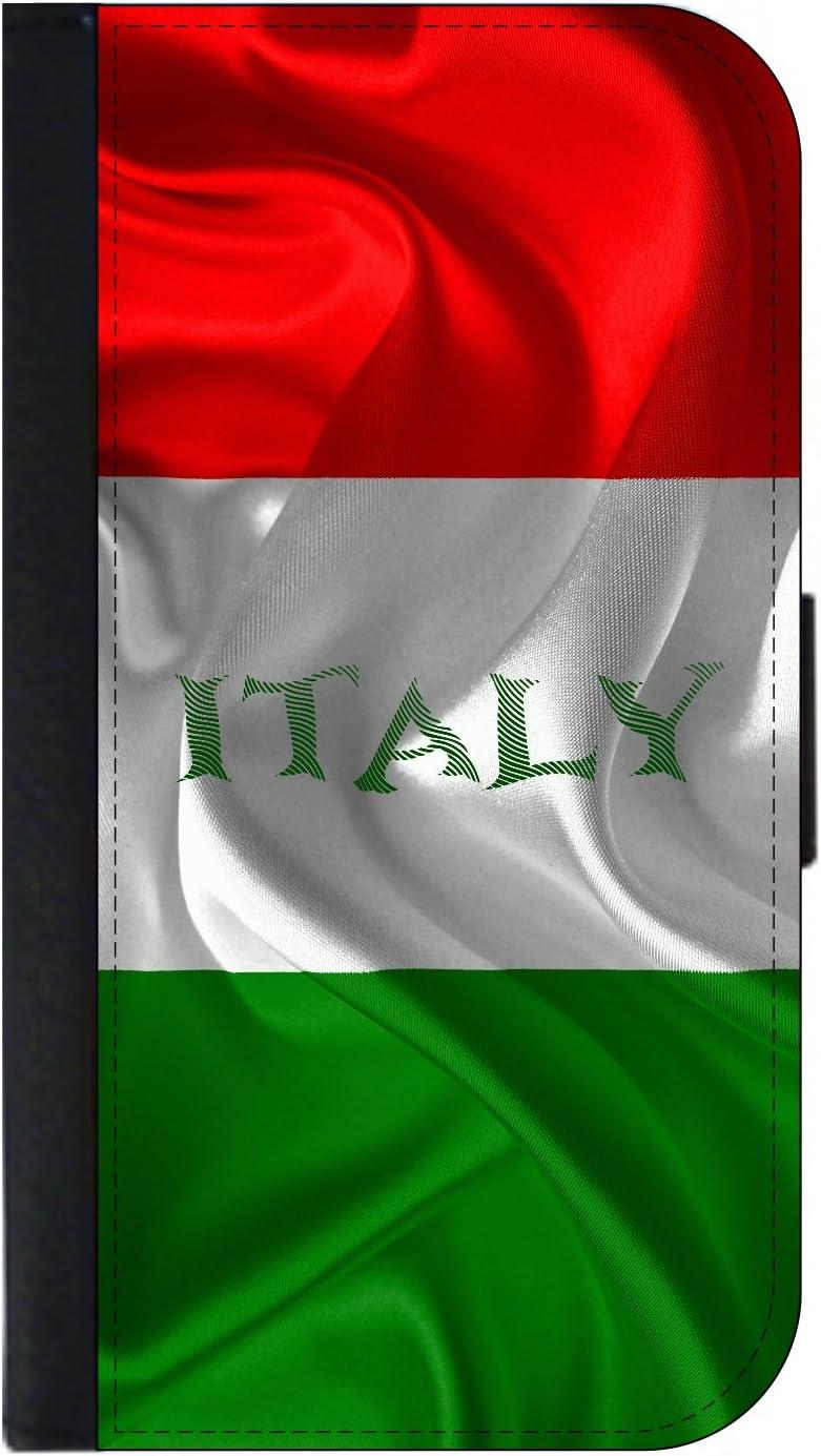 Passport Cover//Card Holder for Travel Italian Flag
