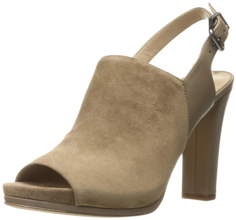 Via Spiga Women's Fabrizie Gladiator Sandal,Black/Black,9.5 M US
