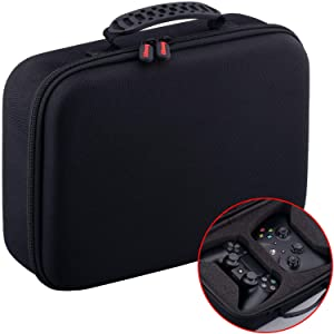 YoRHa Dust & Water Proof Universal Travel Carrying Hard Case for Dual Any Regular Sized Controller e.g. PS4 Xbox One, Switch Pro, Stadia etc.