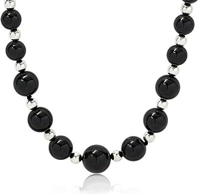 Black Onyx Pendant Pendant Necklace Silver Pendant Black Onyx Necklace