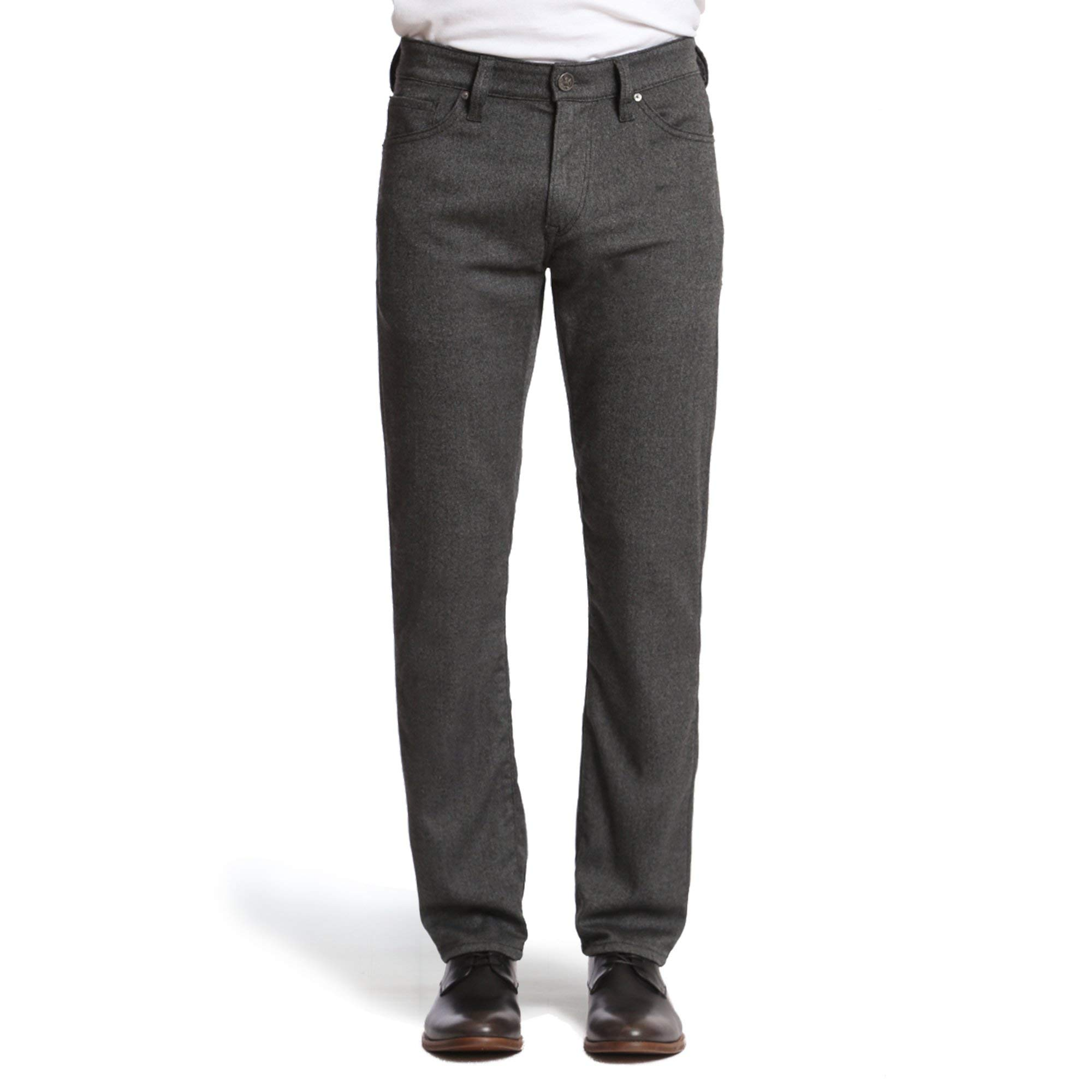 34 Heritage Men's Charisma Relaxed Classic Pants, Grey Feather Tweed 34 x 34