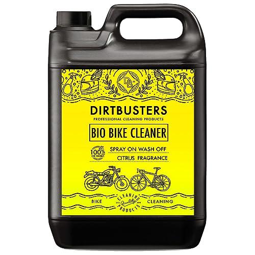 Dirtbuster Lot de 5 Nettoyants bio pour vélo moto cyclomoteur et motocyclette avec microorganismes et enzymes qui élimineront la boue et les saletés pour un nettoyage écologique puissant des v&eacu