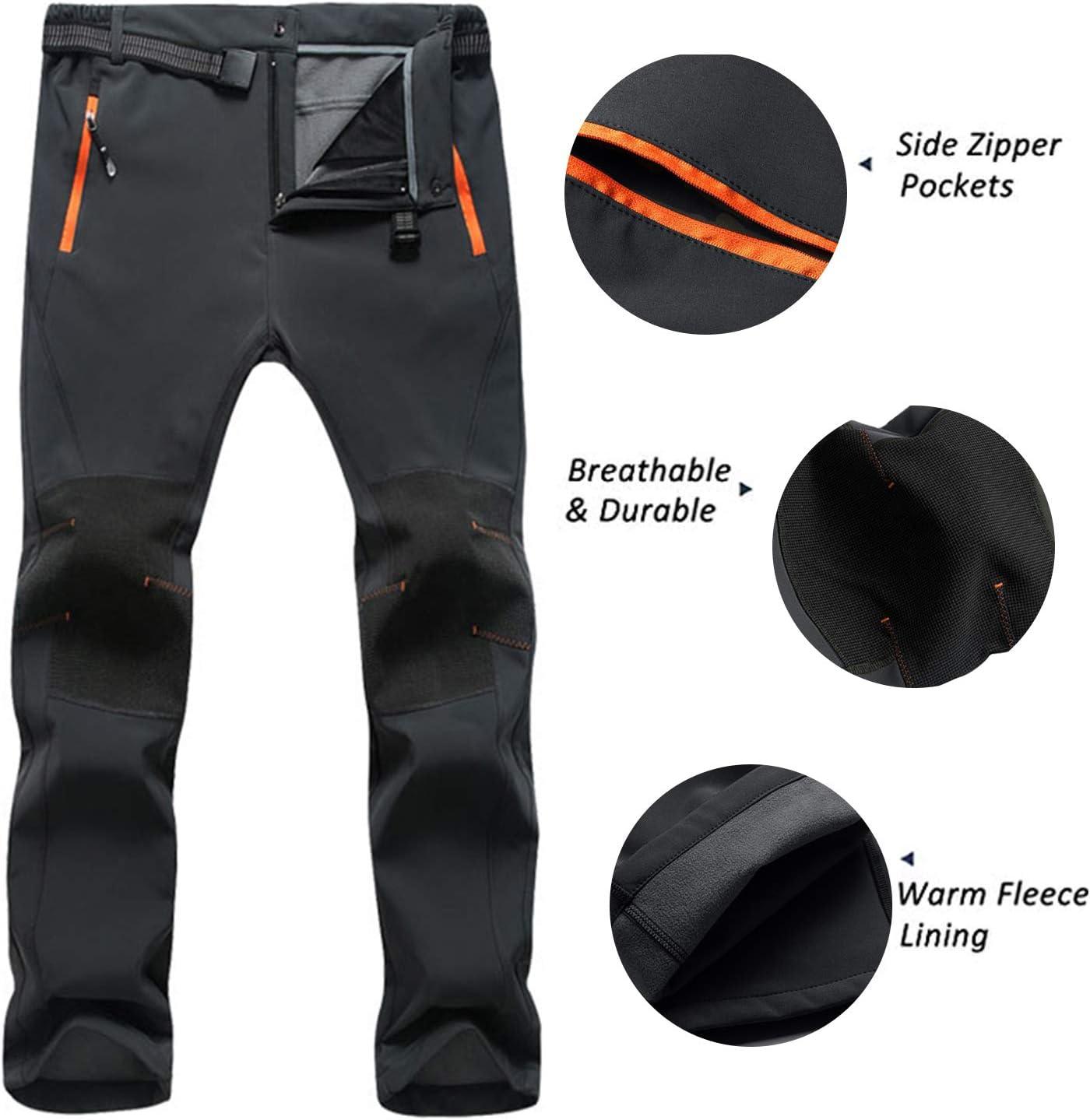 Freiesoldaten Pantalon descalade Respirant l/éger de Sport pour Hommes Pantalon de Montagne Coupe-Vent et imperm/éable /à s/échage Rapide