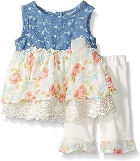 9b690002a8b Amazon.com  Little Lass Infant Girls Red White Blue Star Romper ...