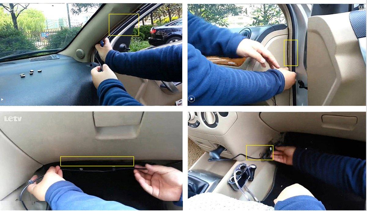 G-Sensor Vehicle Camcorder Pard PDJLYBK Night Vision 170 Degree Wide Angle Dashboard Car Video Recorder