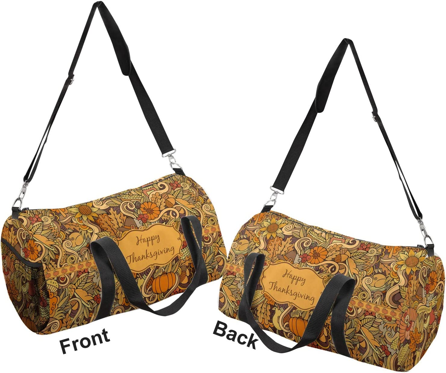 YouCustomizeIt Thanksgiving Duffel Bag Personalized