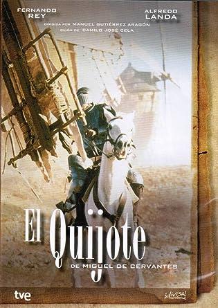 Amazon.com: Don Quijote de la Mancha: Fernando Rey, Alfredo ...