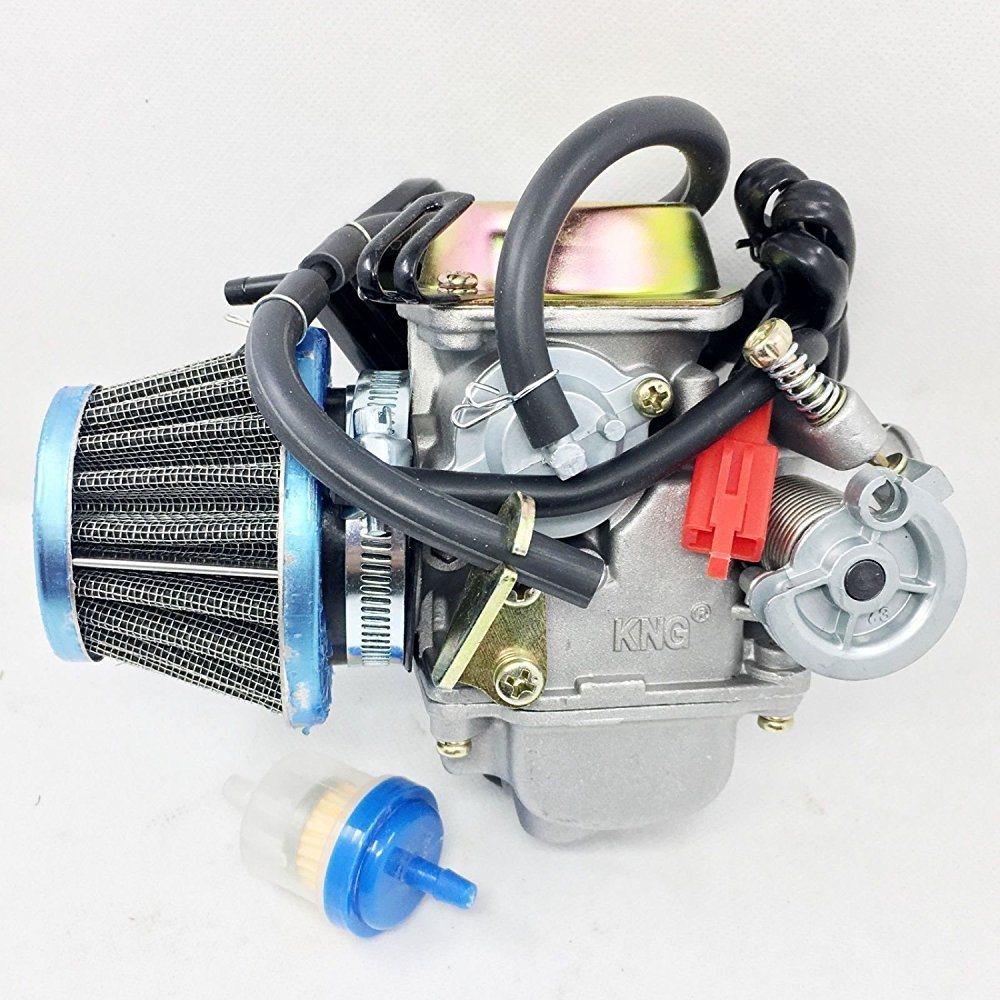 Performance Carburetor W/Filter Gy6 150cc Scooter Roketa SUNL Go-Kart GY6 PD24 by Unknown