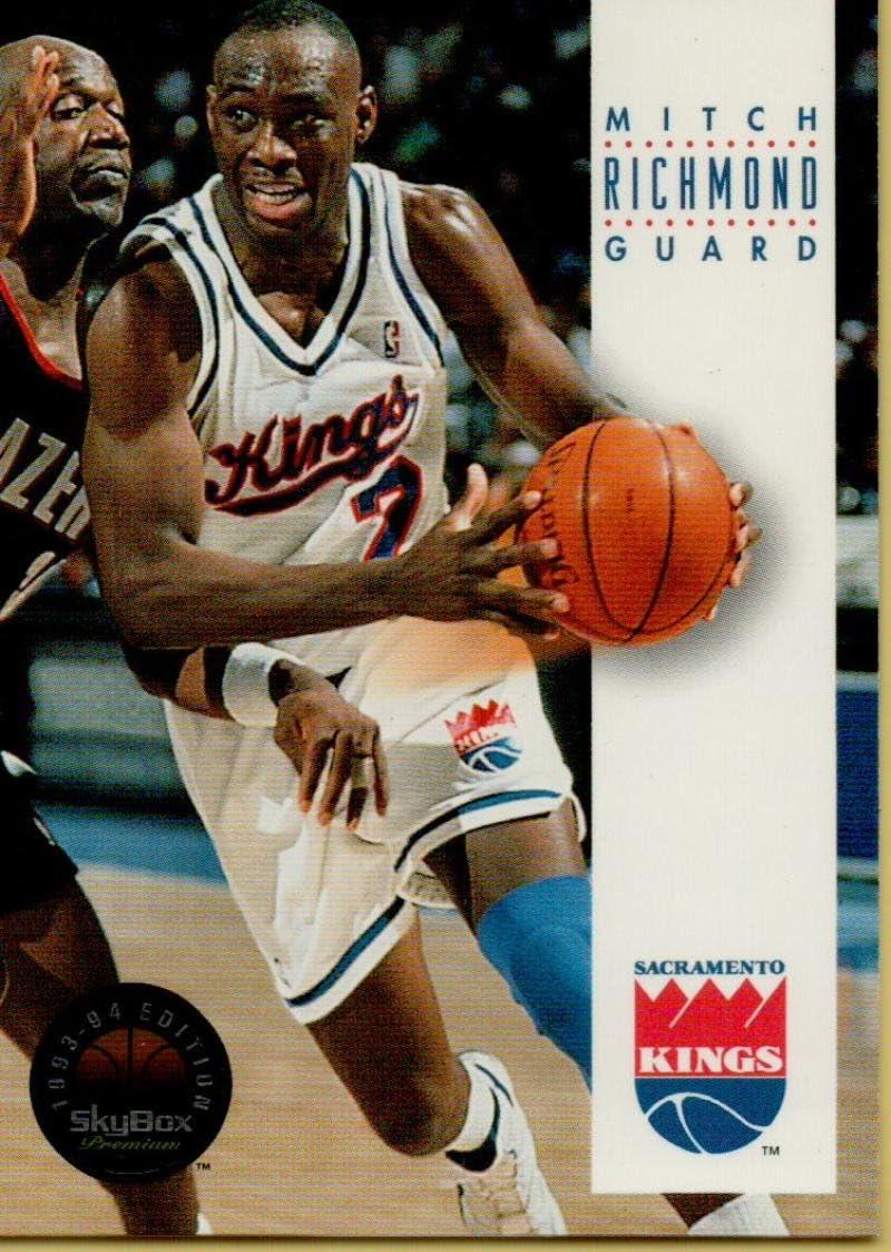 1993-94 SkyBox #157 Mitch Richmond Sac Kings