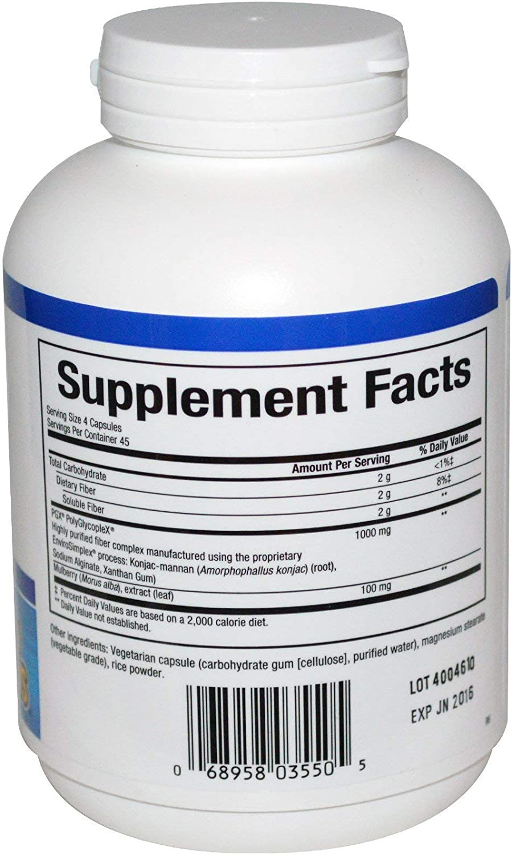 Natural Factors Wellbetx PGX Plus Mulberry Veg. Capsules, 180-count 180 X 2