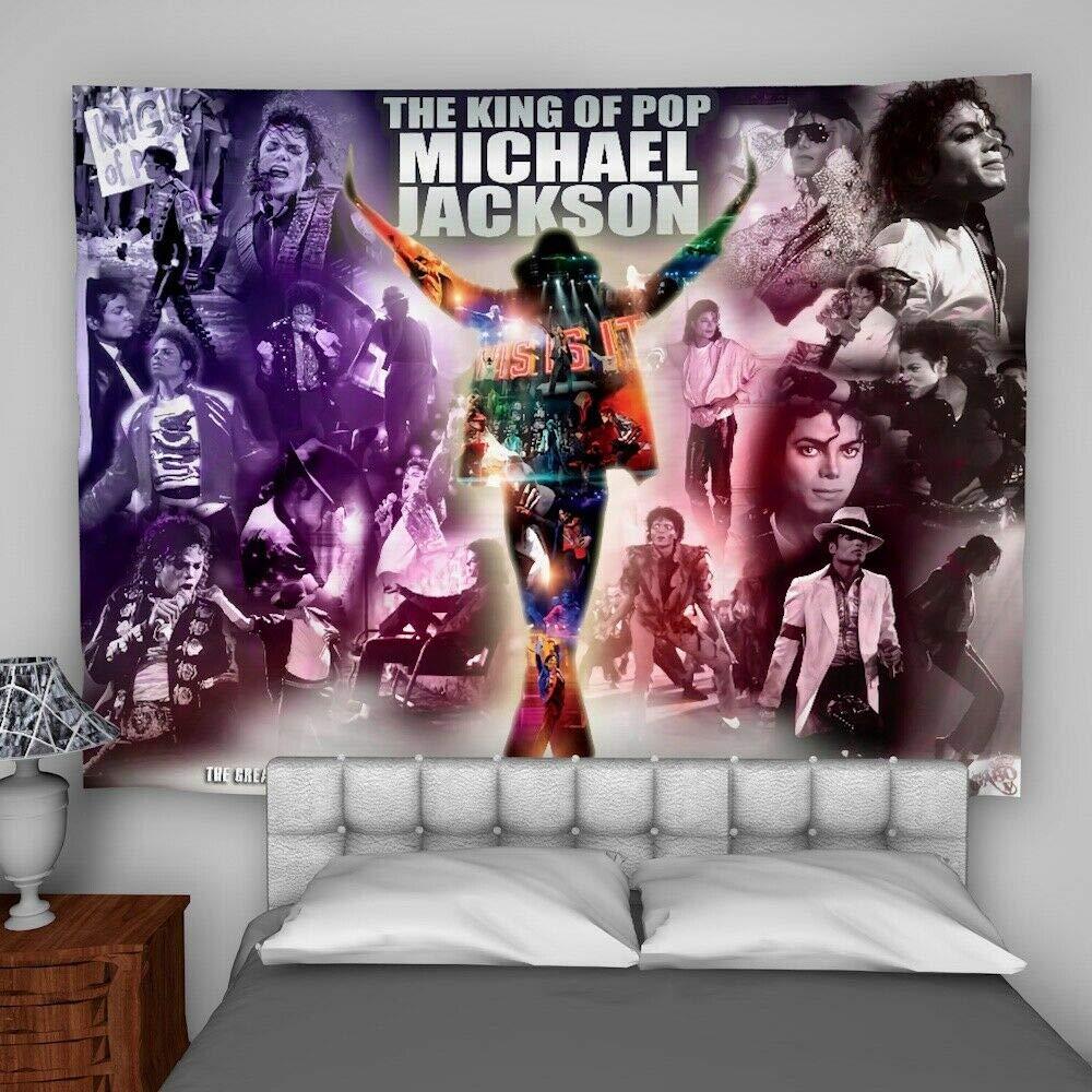 Idea Regalo Decorazione per la casa dormitorio Michael Jackson Copridivano da Appendere alla Parete 60X45inch//150x113cm per Divano Letto