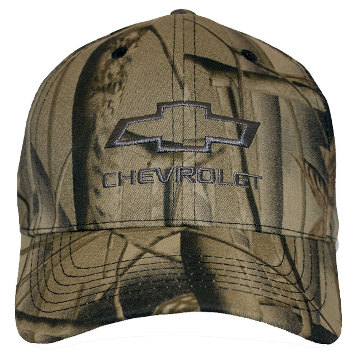Gregs Automotive Chevrolet Chevy Bowtie Hat Cap Brown Bundle Includes 1 Hat and 1 Driving Style Decal