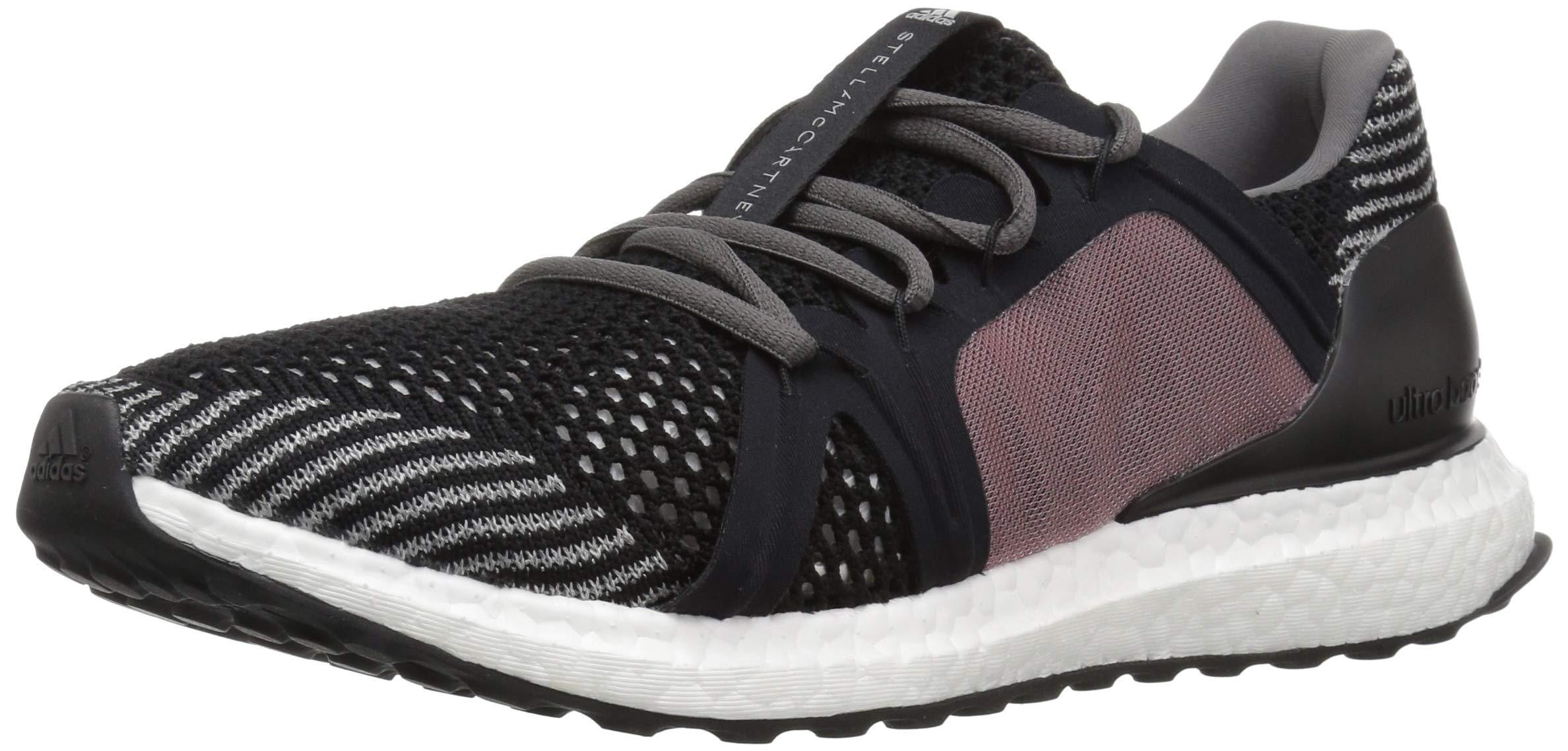 adidas Women's Ultraboost, black/smoked pink/core red, 5 M US