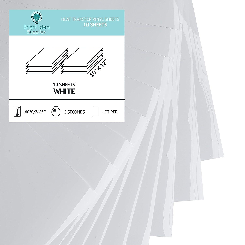 Amazon Bright Idea Heat Transfer Vinyl Htv Bundle 98 X 122