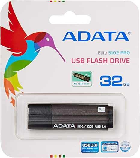 ADATA 128GB S102 Pro Advanced USB 3.0 Flash Drive AS102P-1 Speed Up to 100MB//s