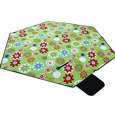 Yiwa cachemire pique-nique Tapis Tente de couchage Pad pliable Tapis de camping Plage Couverture