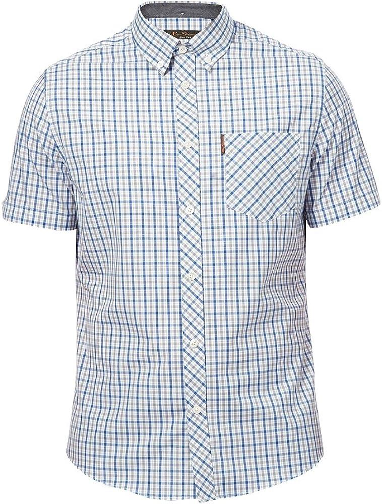 Ben Sherman - Camisa Formal - para Hombre Azul Valarta Blue 64: Amazon.es: Ropa y accesorios