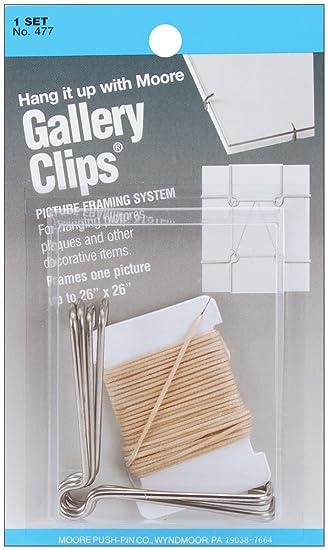 Amazon.com: School Specialty Moore - Gallery Clips Framing System ...