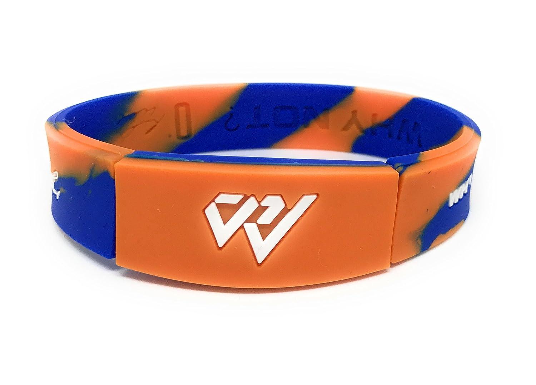 SportsBraceletsPro リバーシブル 成人/ティーン用リストバンド ブレスレット サイズ 7.7 インチ B073L4HW2J Westbrook Camo Westbrook Camo