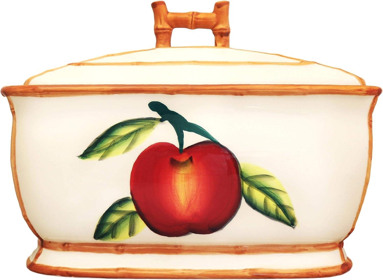 Tuscany Apple Bread Box