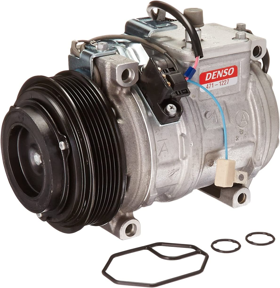 Denso 471-1227 New Compressor with Clutch