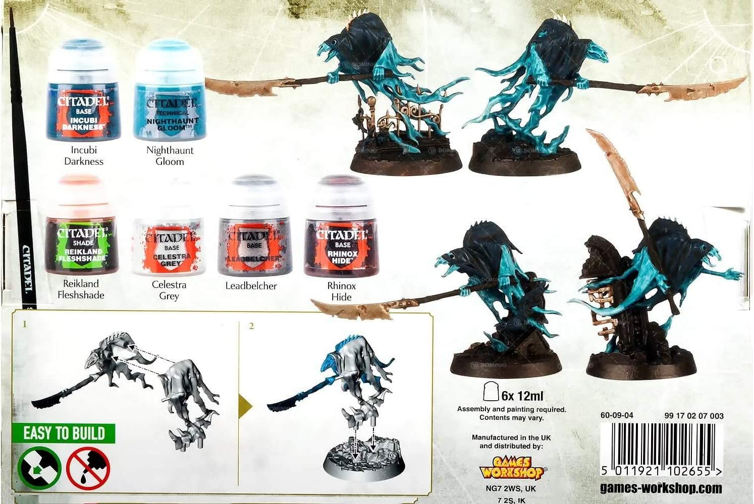 Warhammer Age of Sigmar Nighthaunt + Paint Set: Amazon.es: Juguetes y juegos