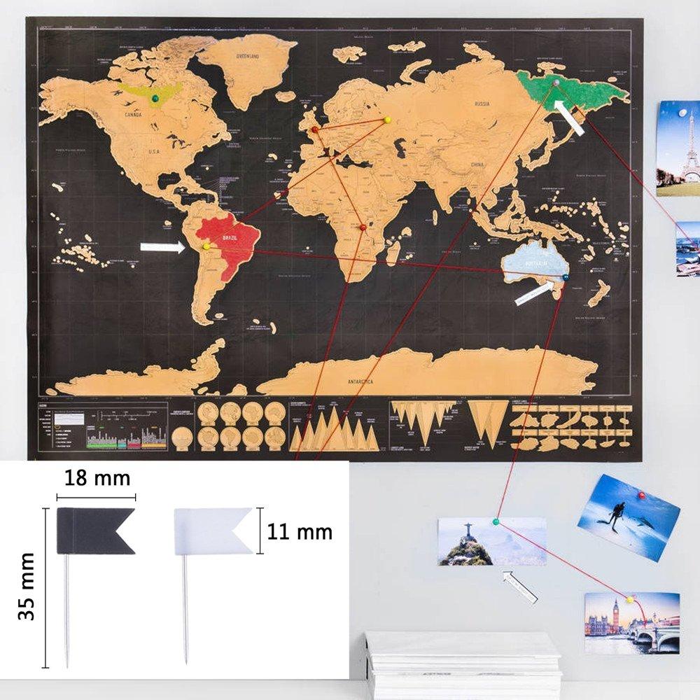 Foe Karte Der Kontinente Jhw.Weltkarte Zum Rubbeln Xxl Osup Rubbelweltkarte Landkarte Zum Freirubbeln Mit Werkzeugsatz Scratch Off World Map 82 X 60 Cm Schwarz